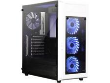 RAIDMAX ALPHA Prime ALPHA-TTW White/Black Steel / Plastic ATX Mid Tower Computer