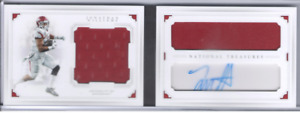 2016 National Treasures College Combo Materials Sigs Booklet #20 J Williams 6/99