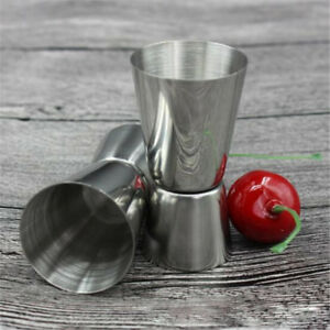 Different Size Stainless Steel Measuring Cup Cocktail Drink Mixer Jigger Bar Mea