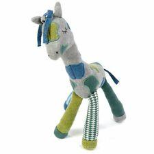 Smallstuff Stoff-Spielzeug Große Giraffe Petrol-Grau