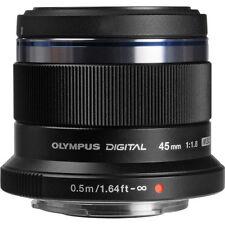New Olympus M. Zuiko Digital ED 45mm f/1.8 Lens - Black