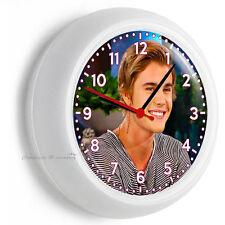 JUSTIN BIEBER SEXY CUTE SMILE WALL CLOCK KITCHEN TEEN GIRL BEDROOM TV ROOM DECOR