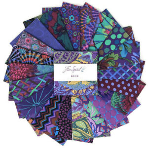 """Kaffe Fassett Classic Emperor Charm Pack for Free Spirit 42 Pieces 5"""" Square"""