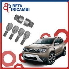 Kit Bulloni Antifurto Per Dacia Duster Ruote in Acciaio o Lega Perni Sicurezza