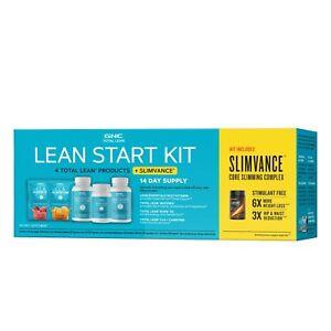 GNC Total Lean Lean Start Kit + Slimvance EX:11/2021