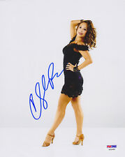 Cheryl Burke SIGNED 8x10 Photo DWTS PSA/DNA Dancing With The Stars AUTOGRAPHED
