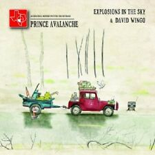 EXPLOSIONS IN THE SKY & DAVID WINGO - PRINCE AVALANCHE  CD  SOUNDTRACK  NEU