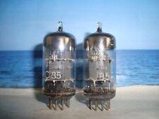 Ecc85 Telefunken # <> # matched pair # near nos (1732)