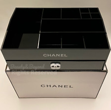 RARE CHANEL  COSMETIC JEWELRY ORGANIZER  WITH DRAWER LIMITED VIP GIFT