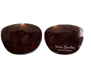 Vera bradley Izzy Brown 56 Eye Size Replacement Lenses/ Lenses Only