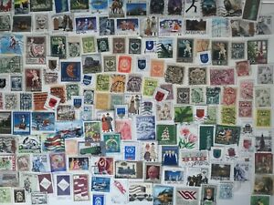 200 Different Latvia Stamps