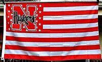 UN University Nebraska Cornhuskers 3X5 NCAA UN Sports Flag College Banner