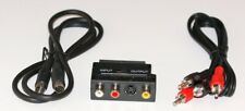 Scart TV / Av A S-VIDEO Y Rca Audio Breakout Cable Adaptador/Cable Kit
