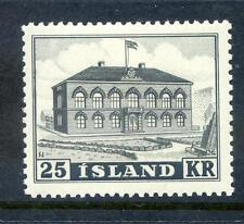 Iceland 1952 25k Parliament Building mint (2014/07/17#13)
