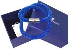 SWAROVSKI BRACELET STARDUST BRACELET 40CM M MEDIUM BRACELET BLUE BLUE