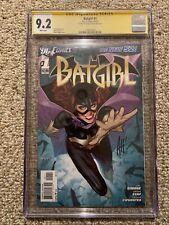 Batgirl 1 CGC SS Signature Series 🔥 Adam Hughes 🔥 New 52