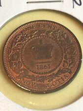 1861 Nova Scotia Canada Large cent TOKEN pre confederation Lot 20