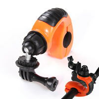 360 Bike Bicycle Handle Hand Bar Mount Clamp for Gopro Hero 4 3+ Yi DC Camera DV