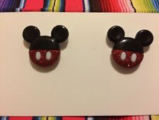 Mickey Mouse Stud Earrings, Disney Jewelry