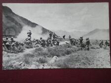 POSTCARD MOUNTAIN ARTILLERY OUTSIDE NIANI MONASTERY JULY 1904