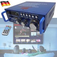 DE Bluetooth FM Stereo HiFi Verstärker Mini Amp USB SD MP3 Player DC 12V AC 220V