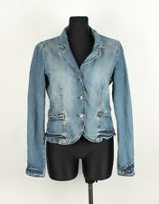 Armani Jeans AJ Indigo 006 Jeans Women Jacket Size 46,UK-16, Genuine
