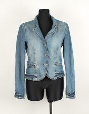 ARMANI JEANS AJ Indigo 006 Jeans Donna Giacca Taglia 46,uk-16, autentica