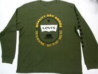 Levi's Thermal Quality Dry Goods Since 1873  Built To Last Green  Levis Strauss