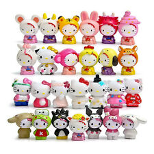 26pcs Anime Hello Kitty Action Figures Toy Doll Collection Kids Birthday Gift