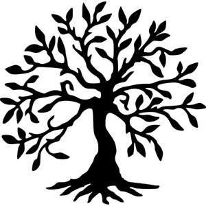 TREE OF LIFE STENCIL - RE-USABLE 7.5 X 7.5 inch
