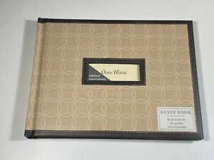 Hallmark All Occasion Brown Guest Book 48 Pages