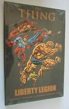 Thing Liberty Legion #1 Hardcover in cellophane minimum 9.0 NM (2011)