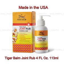 Tiger Balm Joint Rub reduces joint discomfort Free Registered Post
