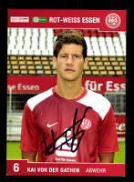 Kai von der Gathen Autogrammkarte Rot-Weiss Essen 2008-09 Original Sign+ A 81329