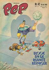 PEP 1969 nr. 42 - BLOOK / BENT SCHMIDT-HANSEN PSV (POSTER) / COMICS