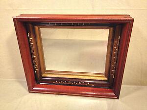Antique Deep Well Framed Mirror