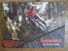 2013 MONGOOSE BICYCLES CATALOGUE ~ MOUNTAIN URBAN  INCLUDING PRICES & SPECS~NEW