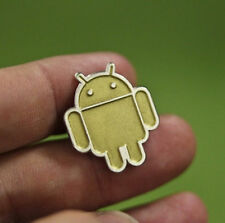 Badge! Limited Golden Pin Rare Google Android Collectible Pin