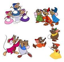 All the Mice Cinderella  TShirt Iron on Transfer 8x10