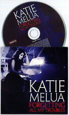 KATIE MELUA Forgetting All My Troubles UK 1-trk promo CD card sleeve