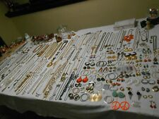 Huge 426 Piece Vintage Jewelry Lot   Brooches, Necklaces, Bracelets, & Much More