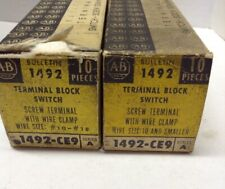 Allen Bradley Terminal Block Switch 1492-CE9 Series LOT OF 19