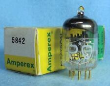 1-Amperex PQ 5842 417A Vacuum Tube NOS/NIB Tested Gold Pins D Getter