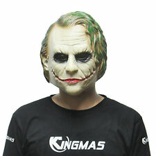 Halloween Popular Batman Joker Clown Latex Mask Costume Cosplay Fancy Dress HOT