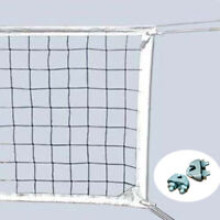 Volleyball Tennis Net Official Size Beach Outdoor 32x3FT with Steel Cable Rope