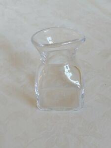 Simon Pearce Woodbury Small Square Glass Pitcher