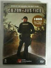 Cajun Justice (DVD, 2013, 3-Disc Set) NEW & Sealed M5