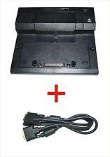 Dell E-Port PR03X E-Serie Dockingstation mit DVI-D Kabel für Latitude E6500Serie