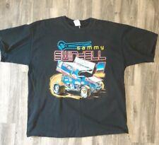 Vintage SAMMY SWINDELL Sprint Car T-Shirt xxl
