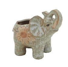 Ceramic pot elephant Cacti Succulent Plant Pot Flower Planter Mini Garden Design